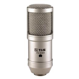 Deutschland HOT Hohe Qualität Mini Version Takstar PC-K300 Aufnahme Mikrofon Mic Kein Audio Kabel Kostenloser versand Versorgung