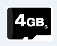 Wholesale Gb Memory Card Wholesale - Genuine 4GB Micro SD microsd TF trans flash SDHC 4 GB Memory Cards FULL CAPACITY free SD adapter
