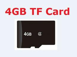 Wholesale Gb Memory Card Wholesale - REAL 4GB micro SD card 4 GB MicroSD Class4 TF Memory cards + free Adapters,50pcs Szycd