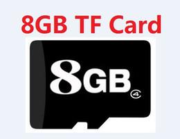 Wholesale Genuine Micro Sd - Real 8GB MicroSD Memory Card Genuine 8 GB Micro SD HC SDHC TF Flash Cards w Adapter szycd