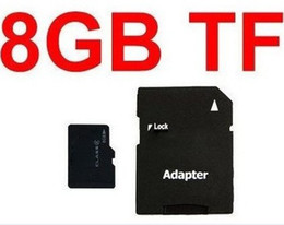 Wholesale Sdhc Card Real Capacity - Real 8GB Micro SD Memory Card Full Capacity 8 GB Micro SDHC TF Flash Cards with Adapter high quality