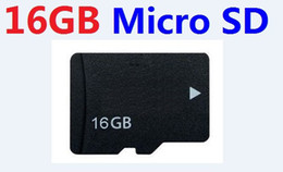 Wholesale Tf Card Sdhc - REAL 16GB MICRO SD TF MEMORY CARD Class 6 SDHC 16 GB MICRO TF 16G with Adapter in clear box