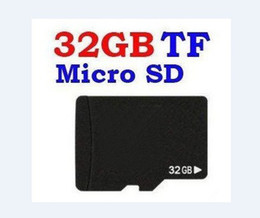 Wholesale sd card for tablet pc - Real 32GB Micro SD TF card SDHC memory cards 32 GB with Adapter For phone Tablet PC Camera