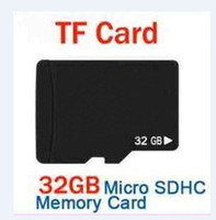 Wholesale authentic cards - 100% Real 32GB Micro SD SDHC Memory Card Class 6 Genuine 32 GB authentic TF Cards FULL CAPACITY