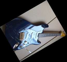 Wholesale Electric Guitars Aged - Model STR Electric Guitar Blue 6 Strings Electric Guitar Aged Neck&top Free Shipping 20100826