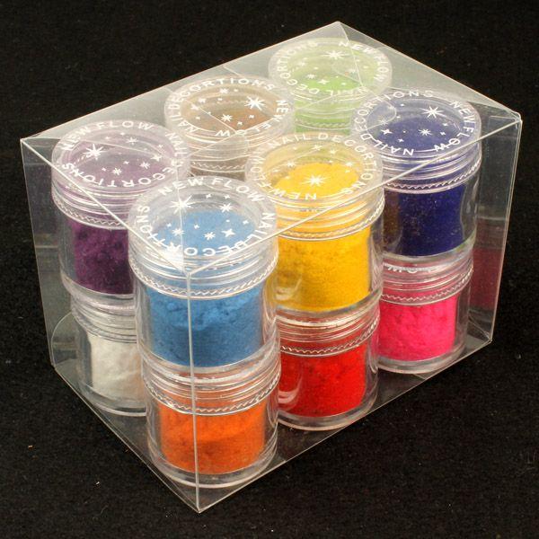 12 färger (10g)