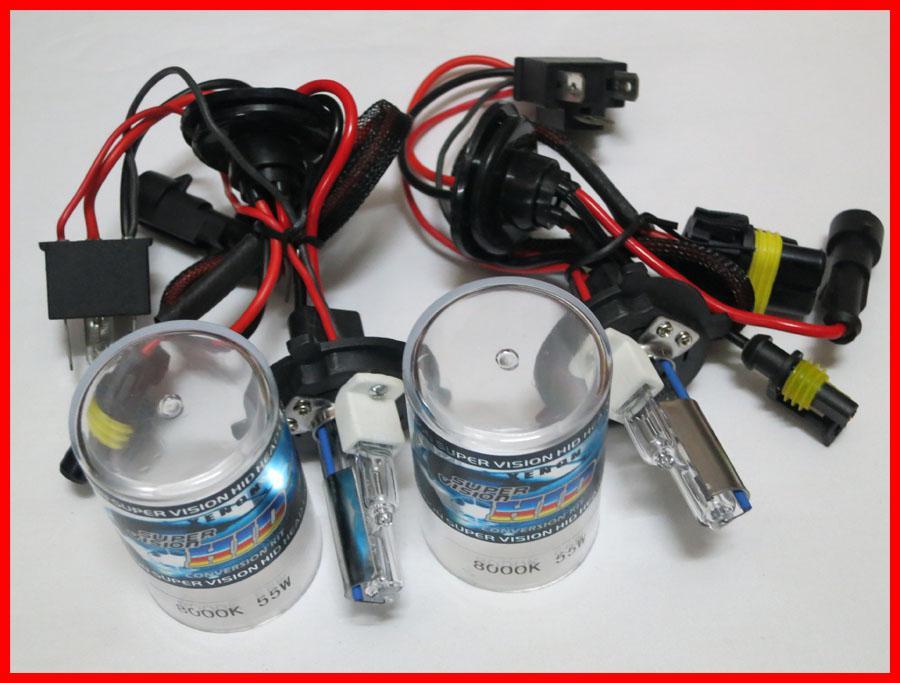 5 paren 12v 55W H4-2 Low Beam Hid High Beam Halogeen HID Xenon Vervanging Lampen 4.3K 6K 8K 10K 12K