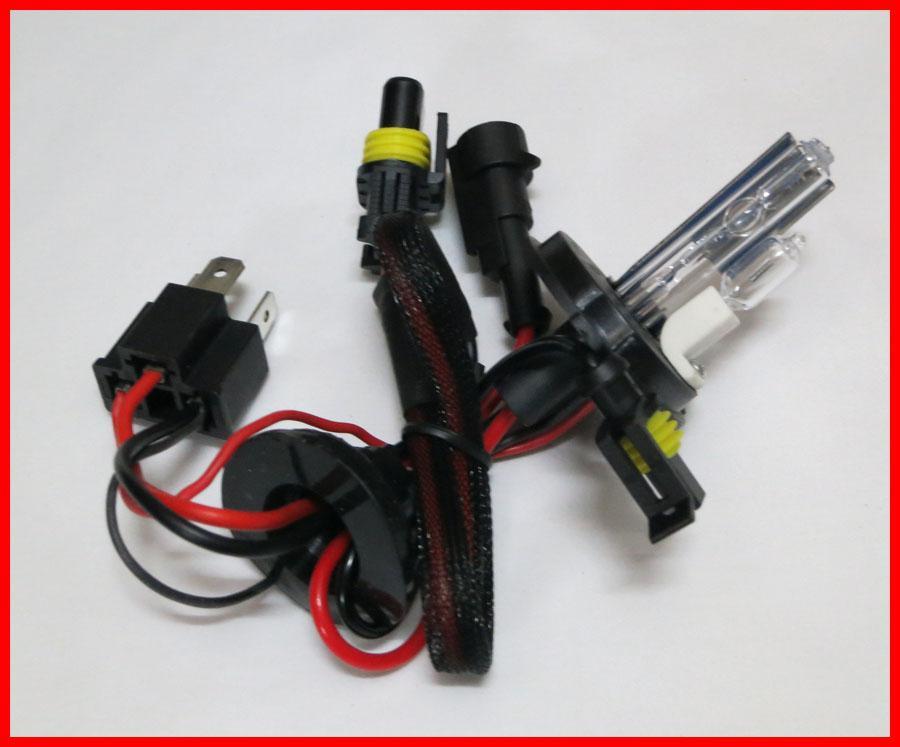 5 PAAR 12V 55W H4-2 Abblendlicht HID Fernlicht Halogen HID Xenon Ersatzlampen 4.3K 6K 8K 10K 12K
