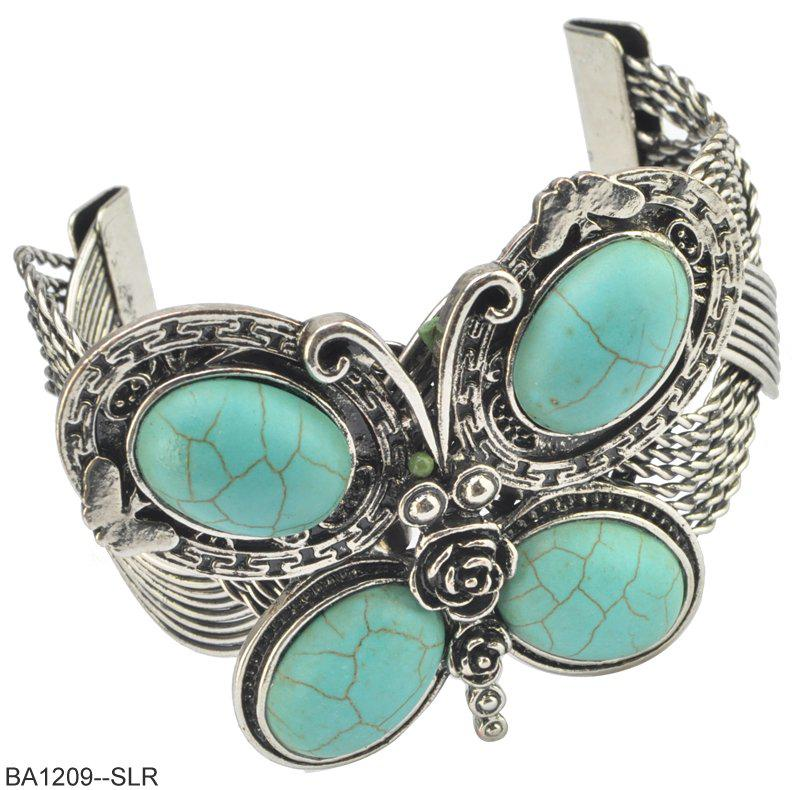 2012 New Fashion Jewelry Jewel Encrusted Butterfly Design Bangle ...