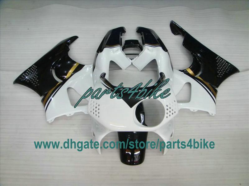 Kit de carrosserie blanc noir pour 1993 1993 1994 Honda CBR900RR 893 92-94 CBR893 carénages RR CBR 900RR