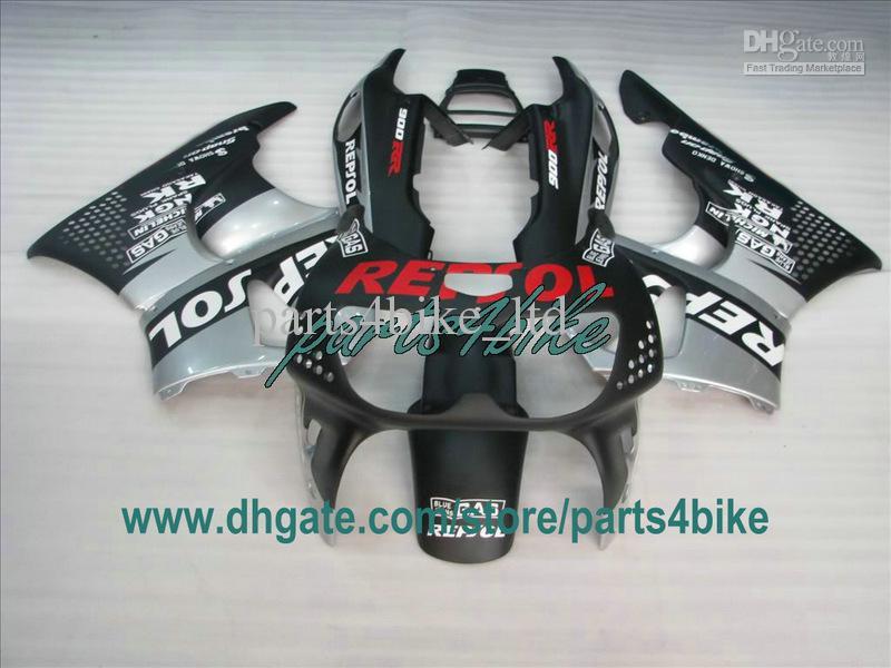 Flat Black Repsol Realing voor 1995 1996 1997 Honda CBR900RR 893 95 96 97 CBR893RR CBR 900RR carrosserie