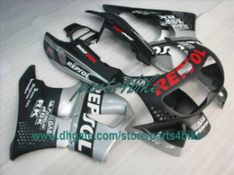 Argentina Carenado plano negro REPSOL para 1995 1996 1997 Honda CBR900RR 893 95 96 97 CBR893RR CBR 900RR carrocería Suministro