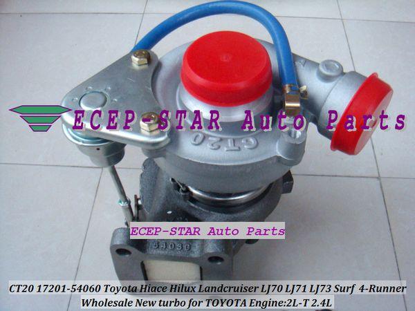 Turbo CT20 17201-54060 1720154060 Turbocharger For TOYOTA HI-ACE 1995-98 HI-LUX 1997-98 LANDCRUISER 90-96 Surf 4-Runner 2.4L 2L-T 2LT 90HP