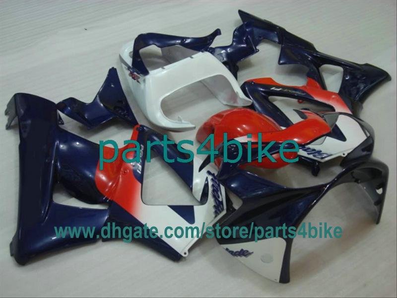 Cuerpo blanco azul rojo para Honda 2000 2001 CBR929RR Fireblade 929 00 01 CBR900RR CBR929 929RR carenados fb1