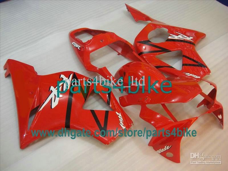 Honda 2002 용 Red Fireblade RR 페어링 키트 2003 CBR900RR 954 02 03 CBR954RR CBR954 CBR 954RR gh7
