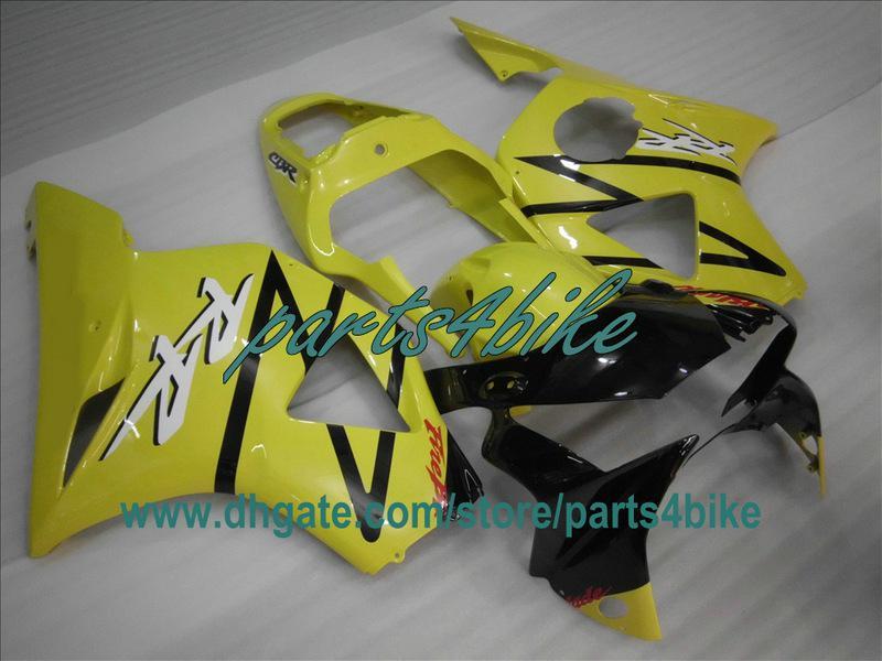 Kit de carenado ABS amarillo para Honda 2002 2003 CBR900RR 954 02 03 CBR954RR carrocería CBR954 CBR 954RR