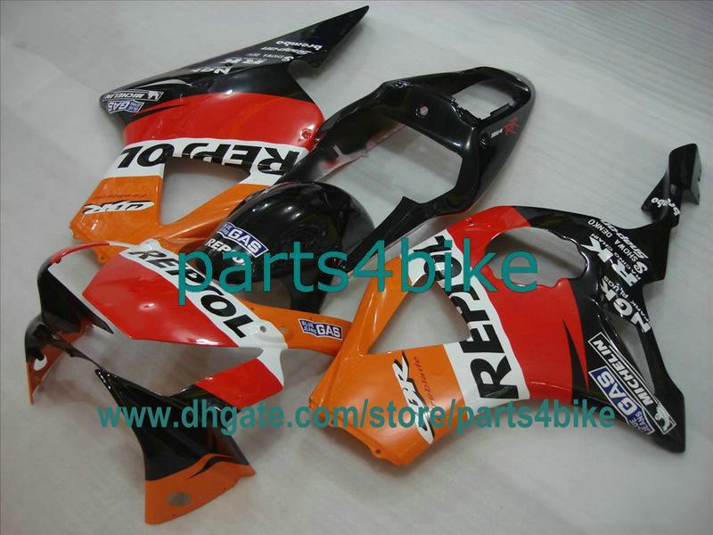 REPSOL Motorverkleidungssatz für Honda 2002 2003 CBR900RR 954 02 03 CBR954RR Karosserie CBR954 CBR 954RR