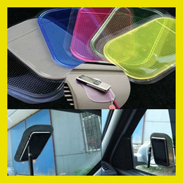 Wholesale Wholesalers For Pad Gel - Powerful Silica Gel Magmic Sticky Pad Anti-Slip Non Slip Mat for Phone PDA mp3 mp4 free shipping
