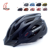 Wholesale Moon Cycling Helmet - Moon Road Cycling Bicycle Helmet Mountain Bike Safety Helmet Fashion Racing Helmet 58-61cm