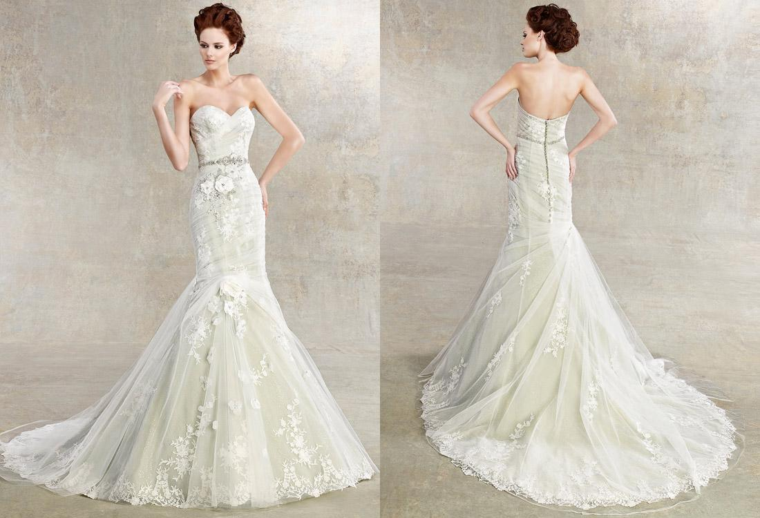 affordable mermaid wedding dresses | Wedding