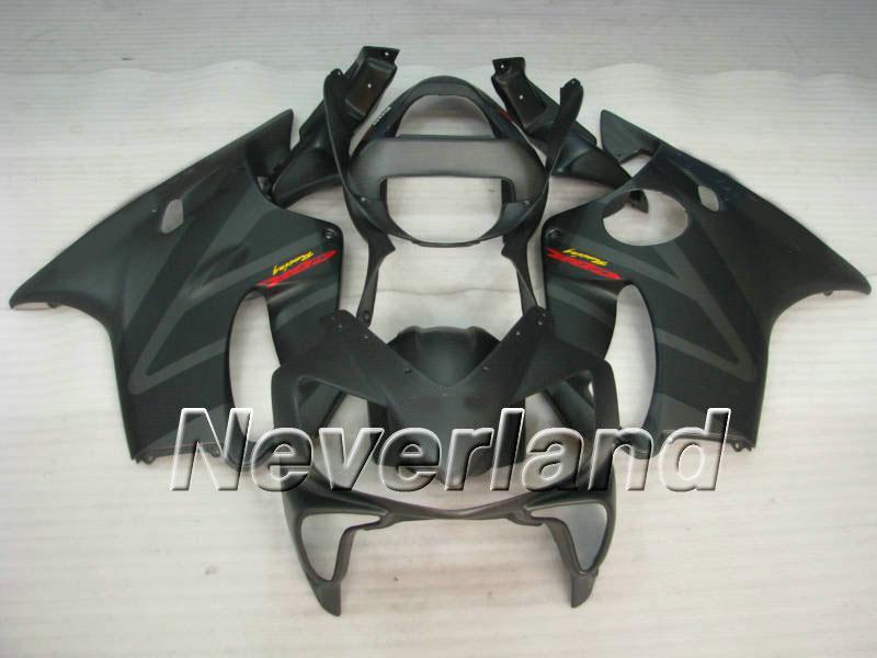 Komplettes schwarzes Vollverkleidungskit für HONDA CBR600F4I 01 02 03 CBR600 F4I 2001 2002 2003 CBR 600F4I Verkleidungsset