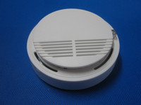Wholesale Gsm Smoke Detector Alarm - wireless alarm smoke detector   sensor can connect with GSM alarm system (free shipping) S159