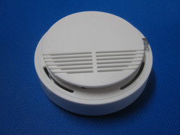 Detector Gsm Alarm NZ - wireless alarm smoke detector   sensor can connect with GSM alarm system (free shipping) S159