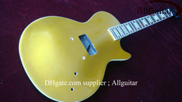 Wholesale Unfinished Electric Guitar Bodies - mahogany body unfinished goldtop colcor electric guitar body