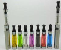 Wholesale Ego Ce4 Clearomizer Wholesale - EGO CE4 atomizer CE4 Clearomizer CE4 Cartomizer for EGO-T EGO-W E-cigarette 10pcs lot
