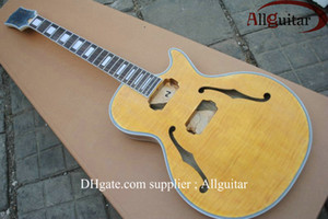 custom jazz mahogany body top Maple electric guitar body on Sale