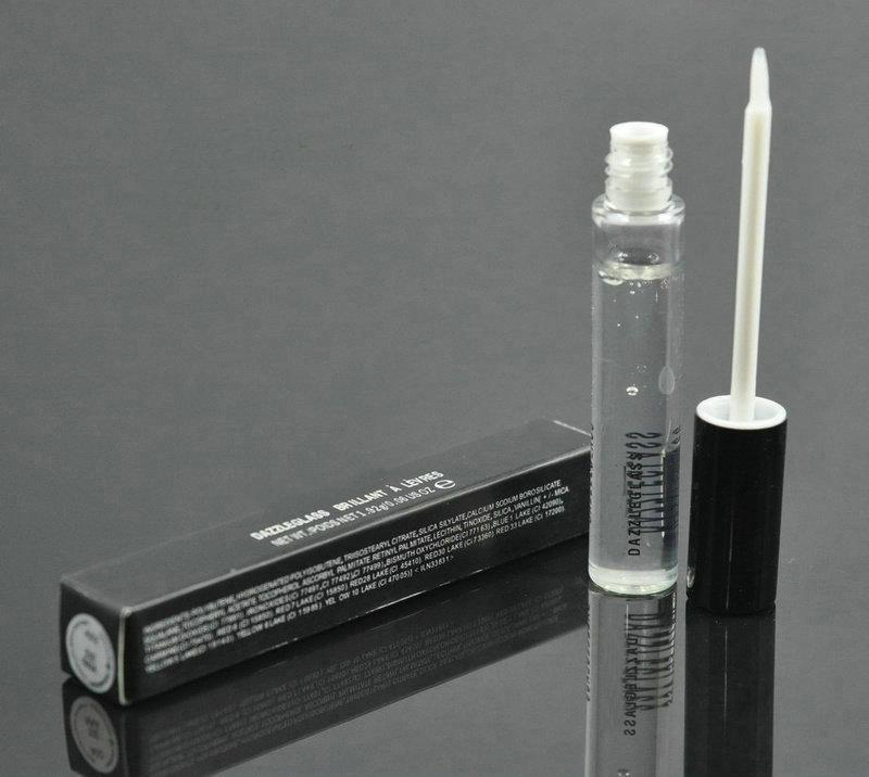 Nova Maquiagem Dazz Lip gloss 1.92g Inglês Nome Lipgloss 15 cores Frete Grátis