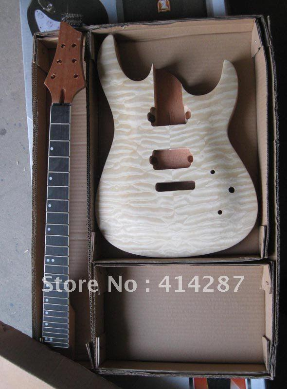 2019 High End Quality Electric Guitar Kits Diy Model From