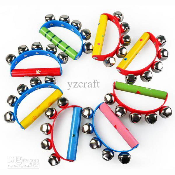 2018 Musical Instruments Multicolor Wooden Semicircle Baby