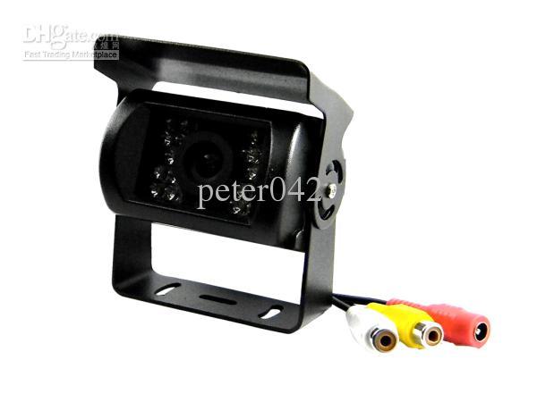 1pcs CMOS 다채로운 밤 비전 버스 카메라 / 18 led 적외선 자동차 백미러