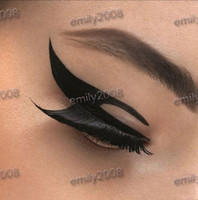Wholesale Eye Liner Stickers - HOT! NEW eye liner sticker shadow sticker moky eyes Sticker mixed order 200 pairs lot