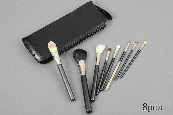 Free Gift!!!New professional Makeup Brush set 8 PCS brush Will Bag 30pc