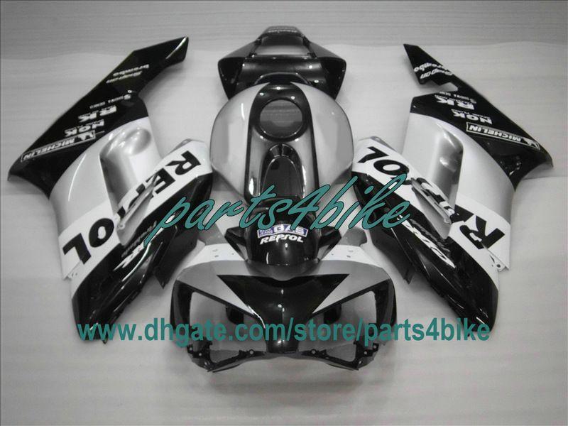 2004年2005年の注入フェアリングキットHonda CBR1000RR CBR 1000 RR 04 05 CBR1000ブラックレポートボディワーク