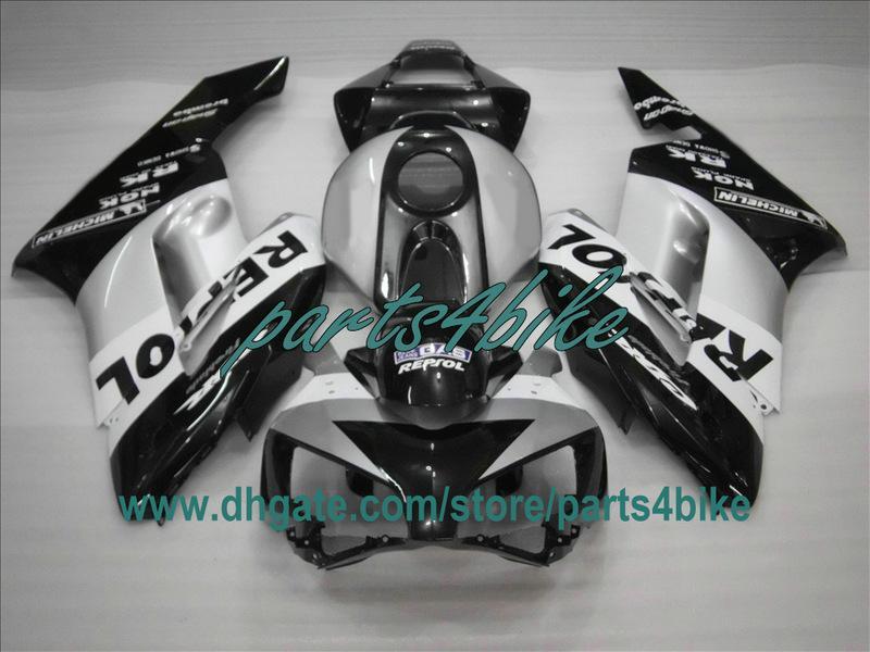 2004 년 혼다 CBR1000RR CBR 1000 RR 04 05 CBR1000 블랙 REPSOL 차체 용 사출 페어링 키트