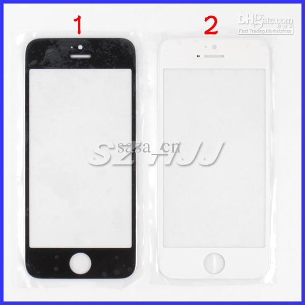 لشاشة iPhone5 5S 5C الجبهة الخارجي زجاج عدسة اللمس الغطاء عن اي فون 5 5S 5C relacements لوحة تعمل باللمس