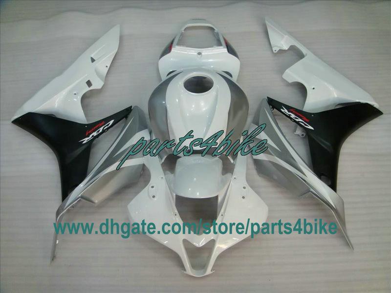 SL / WT / BK Enjeksiyon kalıplama için Honda CBR600RR 2007 2008 CBR 600RR CBR600 F5 07 08 kaplama kiti