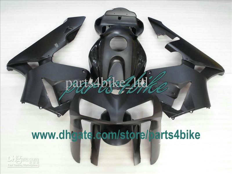 Honda CBR600RR 2005 2006 CBR 600RR CBR600 F5 05 06 BodyWorkingのためのフラットマットブラックインジェクションフェアリング