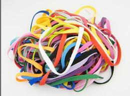 29 Farben Flache Schnürsenkel Schnürsenkel Schnürsenkel für Turnschuhe Sportschuhe, Sportschuhe im Angebot