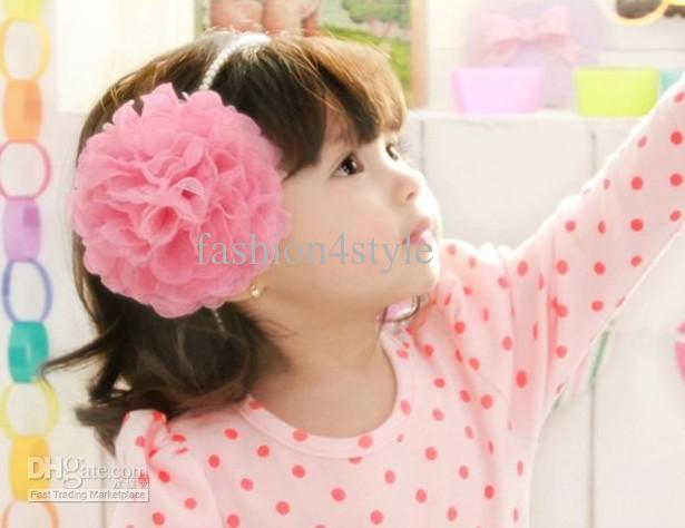 top baby infant children s beautiful flower hair