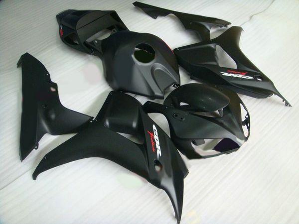 Kit carenatura nero opaco per HONDA CBR1000RR 1000RR 06 07 2006 2007 kit carene riparazione carrozzeria