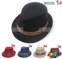 Wholesale Dandys Hats Caps - Baby kids children's Caps accessories hat boys grils hats fedora hat, 10pcs lot, dandys
