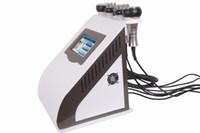 Wholesale tripolar rf skin tightening - Hot selling new 5in1 Ultrasonic Cavitation RF vacuum Bipolar Tripolar Slimming Radio Frequency Skin Lifting Tightening beauty machine