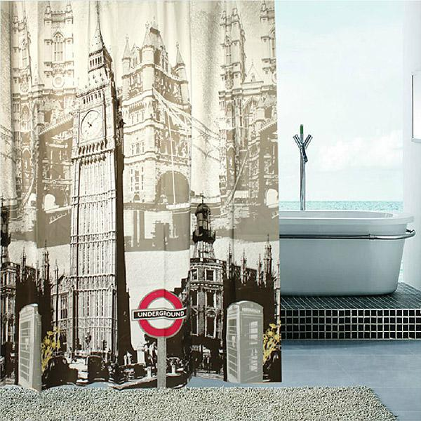 2019 Big Ben In London England Shower Curtain 180X180cm From Abhome 945