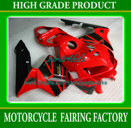 Kit de carroçaria de injeção OEM vermelho preto para 2003 2004 Honda CBR600RR CBR 600RR peças da motocicleta CBR600 F5 03 04 carenagens ty3 de Fornecedores de oem peças honda