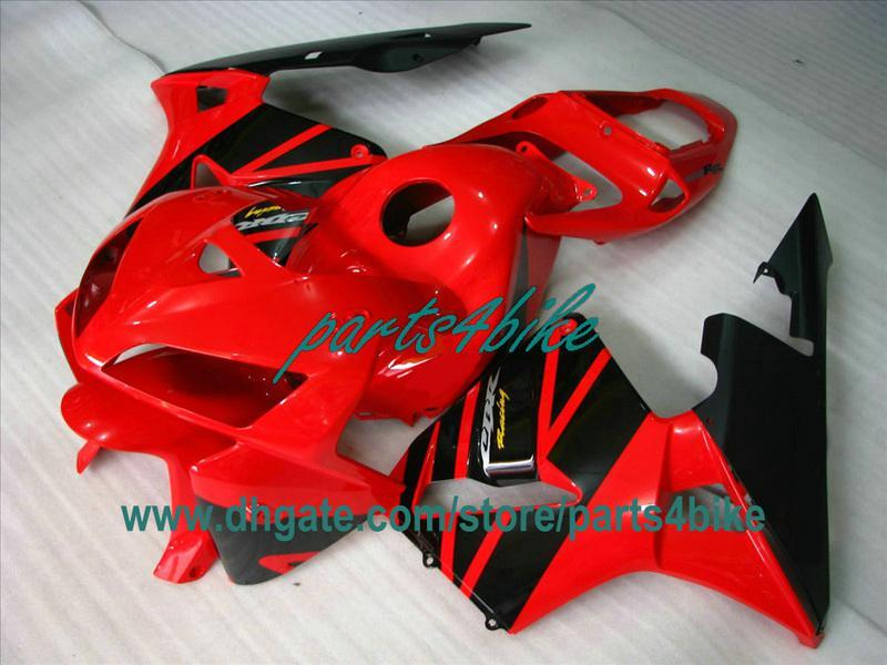 Kit de carrocería de inyección OEM negro rojo para 2003 2004 Honda CBR600RR CBR 600RR piezas de la motocicleta CBR600 F5 03 04 carenados ty3