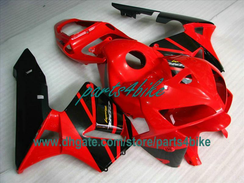 Kit de carrosserie noir injection OEM noir pour 2003 2004 Honda CBR600RR pièces de moto CBR 600RR CBR600 F5 03 04 carénages ty3